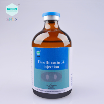 ZNSN Enrofloxacin 2.5% 5% 10% solution