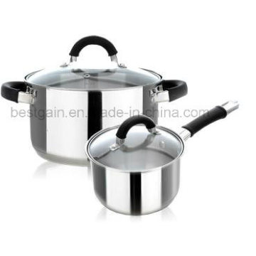 Kitchenware 4PCS Stainless Steel Cookware Set