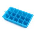 silicone ice cube tray in oven