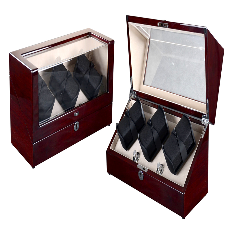 Automatic watch box case