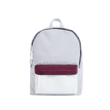 Fashion Contrast Funky Color Backpack College Book Bags