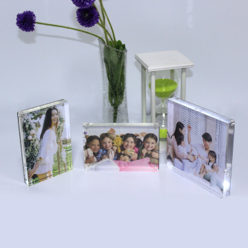 APEX 5x7 Transparent Acrylic Decor Photo Frame
