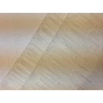 Polyester Jacquard Stripe Solid Fabric