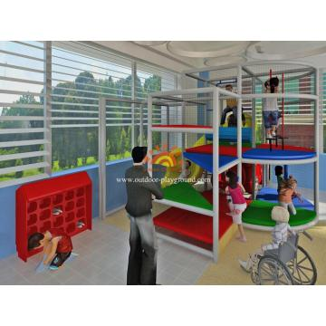 Children Simple Design Indoor Play Structure