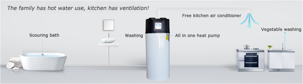 Bathroom Water Heater Heat Pump