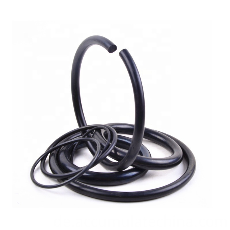Custom Silicone Nbr Epdm Sealing Ring Rubber O Rings Black