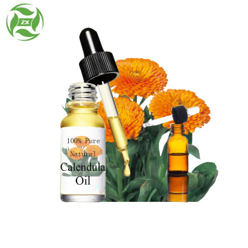 Pure natural extract of calendula oil massage oil