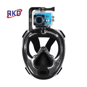 scuba light accessory 180 panoramic rubber diving mask