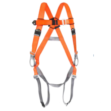 100% Polyester full body harness with lanyard