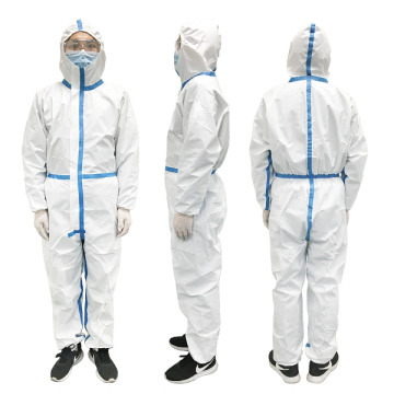 Disposable Medical Isolation Gown in Stock Quick Delivery