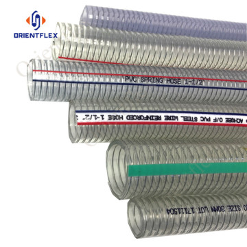 anti-static polyspring wire reinforced pvc hose