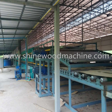 Veneer Dryer Line for Plywood
