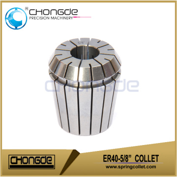 "ER40-5/8"" Precision Collet Clamping Range 0.625""-0.585"""