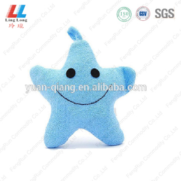 Smile star shape wholeasale sponge style