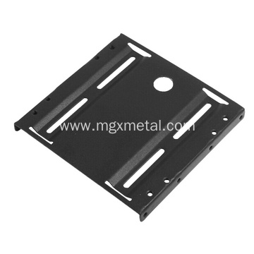 Black Powder Coated Steel Adapter Mounting Bracket