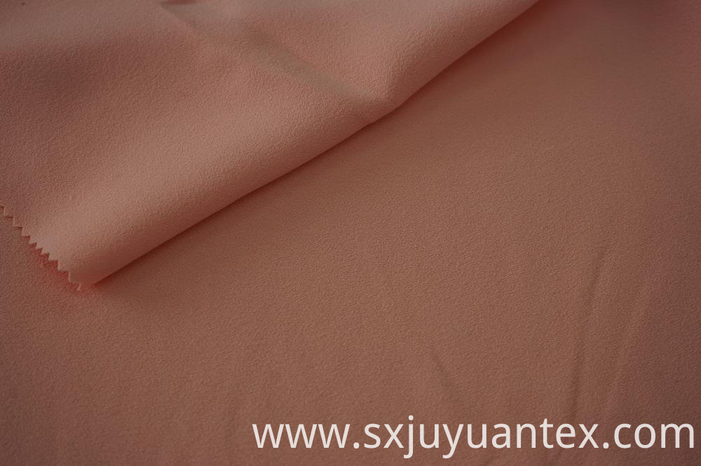 Polyester CEY Single Side Crepe Fabric