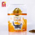 Resealable Zipper Bag For Cat Food Packaging