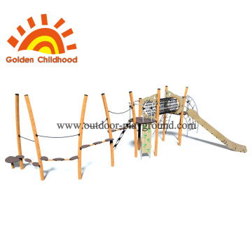 Climbing Balance Outdoor Slide Equipment For Sale