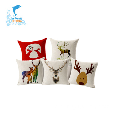 Colorful cartoon sofa backrest pillow