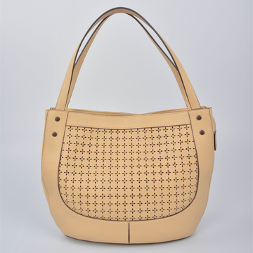 Top Grain High Quality Women Genuine Tote Bag