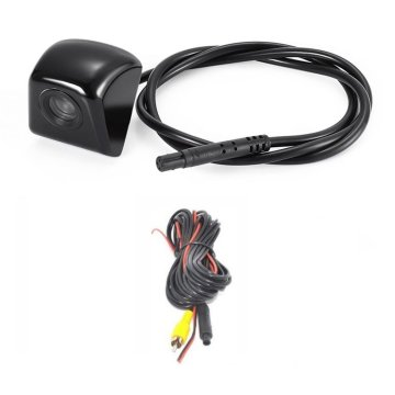 170-Degree Wide Angle HD Night Vision CCD Car Rear View Reverse Camera Waterproof Vehicle Camera For Backup Parking