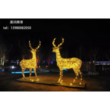 Outdoor Deer Resin Lights