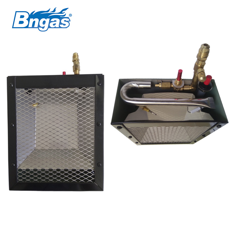 gas heater used on carriage