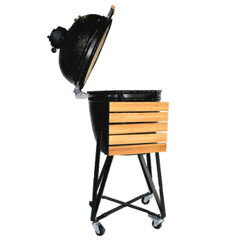 Fire Pits Double Grill Pan Kamado BBQ