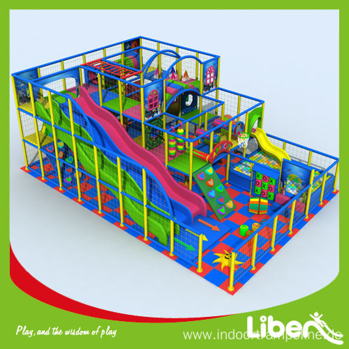 Indoor play structure equipment