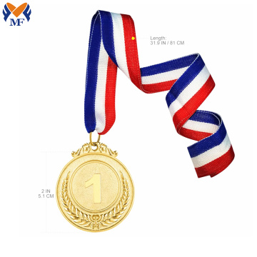 Wholesale sports gold blank medal in bulk
