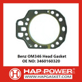 Benz OM346 Head Gasket 3460160320