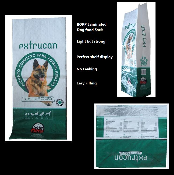 bopp pet food bag