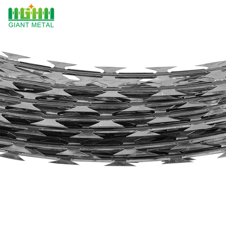 14 Gauge Razor Barbed Wire High Quality