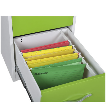 Green 2 Drawer File Cabinet