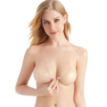 Invisible Backless silicone Bras Plunge bra