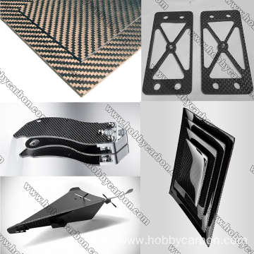 Carbon Fiber Waterproof Sheets Plate