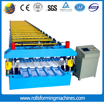 metal step roof machine