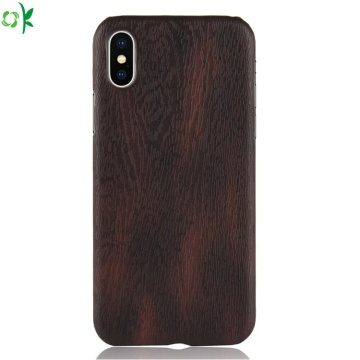 Fashion Wood Pattern PC Phone Case for Iphone