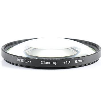 RISE(UK) 67mm Close-Up +10 Macro Lens Filter for Nikon Canon SLR DSLR Camera