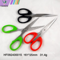Plastic handle stainless steel office scissors