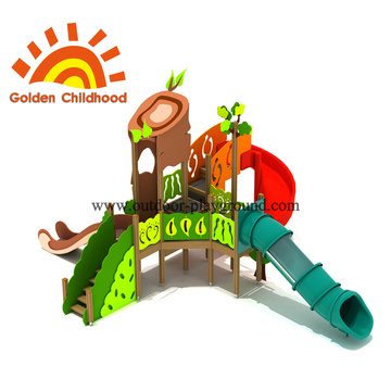 Forest Slide Outdoor Playground Equipment