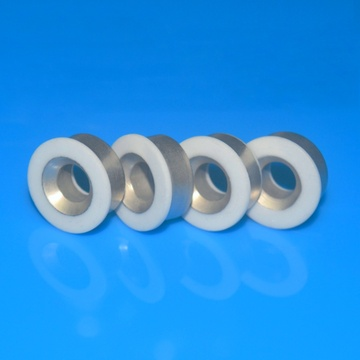 Fine Ground Alumina Ceramic Metallized Insulator