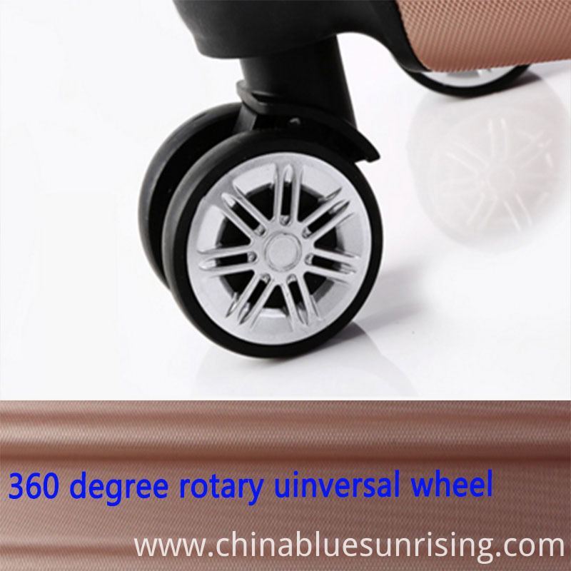 360 degree wheel luggage