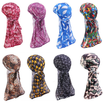 Muslim head cap custom head wraps bandanas