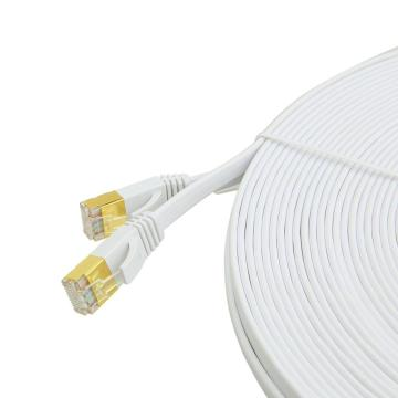 Snagless CAT7 Shielded Flat Patch Cable