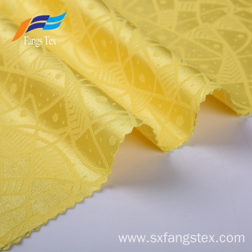 Breathable Polyester Jacquard Women Plain Garment Fabric