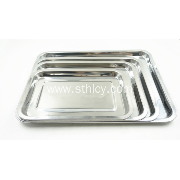 High Quality Stainless Steel Multifuntional Serving Tray