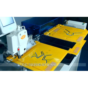 Sewing machine with automated Template-changing Device