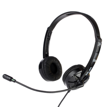 H58 Computer Wired Headphone Office Bussiness Telephone Traffic Headphones Noise Cancelling Headset with Mic for Computer Laptop