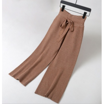 Knitted Wide Leg Pants Wholesale